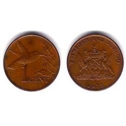 (25) Trinidad y Tobago. 1975. 1 Cent (EBC)