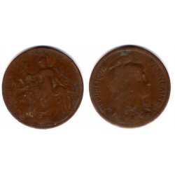 (843) Francia. 1917. 10 Centimes (RC)