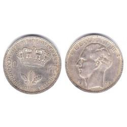 (105) Belgica. 1935. 20 Francs (MBC)