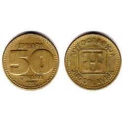 (153) Yugoslavia. 1992. 50 Dinara (EBC)