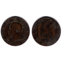 (771.5) Francia. 1856(K). 10 Centimes (RC+)