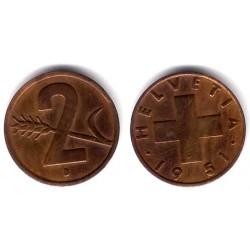 (47) Suiza. 1951(B). 2 Rappen (EBC)