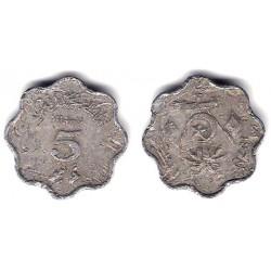 (45) Maldivas. 1970. 5 Laari (RC)