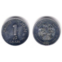 (68) Maldivas. 1984. 1 Laari (SC)