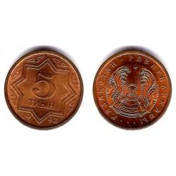 (2) Kazajstan. 1993. 5 Tiyin (SC)