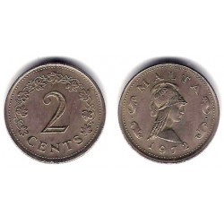 (9) Malta. 1972. 2 Cents (EBC)