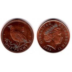 (773) Gibraltar. 1999. 1 Penny (SC)