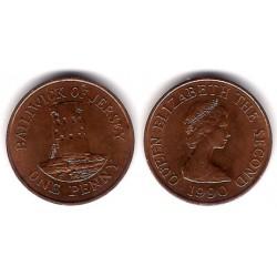 (54) Jersey. 1990. 1 Penny (EBC+)