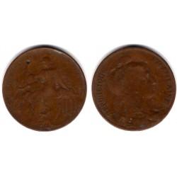 (843) Francia. 1914. 10 Centimes (RC)