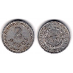 (17) Uruguay. 1938. 2 Pesos (BC)