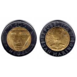 (357) San Marino. 1996. 500 Lira (SC)
