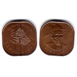 (22) Suazilandia. 1975. 2 Cents (EBC)