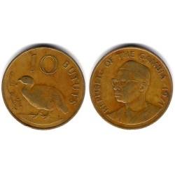 (10) Gambia. 1971. 10 Bututs (BC+)