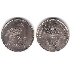 (49.2) Seychelles. 1989. 25 Cents (MBC+)