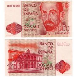 España. 1980. 2000 Pesetas (EBC) Serie 1R