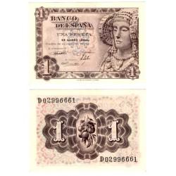España. 1948. 1 Peseta (SC) Serie D