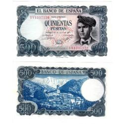 España. 1971. 500 Pesetas (EBC+) Serie 1N