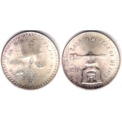(M94b.3) Estados Unidos Mexicanos. 1979. 1 Onza (SC) (Plata)