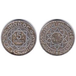 (Y48) Marruecos. 1951/1370H. 5 Francs (MBC+)