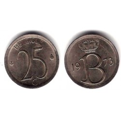 (153.1) Bélgica. 1973. 25 Centimes (MBC)