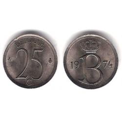 (153.1) Bélgica. 1974. 25 Centimes (MBC)