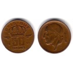 (148.1) Bélgica. 1958. 50 Centimes (MBC)
