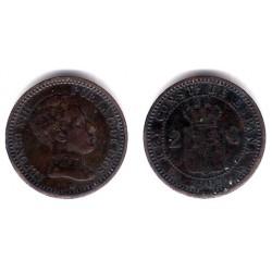 Alfonso XIII. 1905*(05). 2 Céntimos (MBC-) Ceca de Madrid SM-V