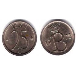 (154.1) Bélgica. 1972. 25 Centimes (MBC)
