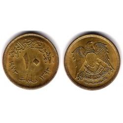 (435) Egipto. 1973. 10 Milliemes (EBC)