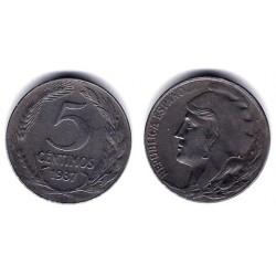 España (II República). 1937. 5 Céntimos (MBC+)