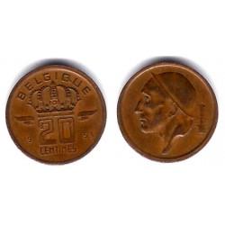 (146) Bélgica. 1953. 20 Céntimes (MBC)