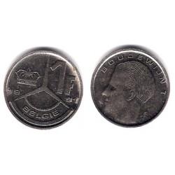(171) Bélgica. 1991. 1 Franc (MBC)