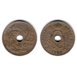 (68.1) Bélgica. 1928. 25 Centimes (MBC)