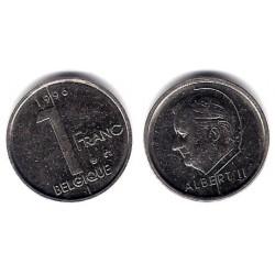 (187) Bélgica. 1996. 1 Franc (MBC)