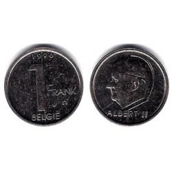 (188) Bélgica. 1996. 1 Franc (MBC)