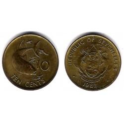 (48.1) Seychelles. 1982. 10 Cents (EBC)
