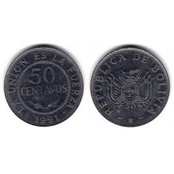(204) Bolivia. 1991. 50 Centavos (MBC)
