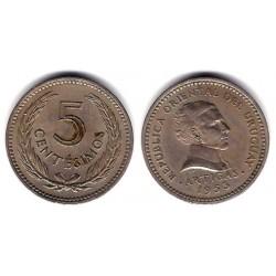 (34) Uruguay. 1953. 5 Centesimos (MBC+)
