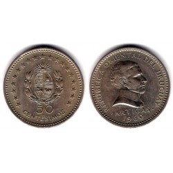 (41) Uruguay. 1960. 50 Centesimos (EBC+)