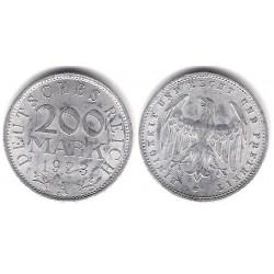 (35) Imperio Alemán (Weimar). 1923(A). 200 Mark (EBC)