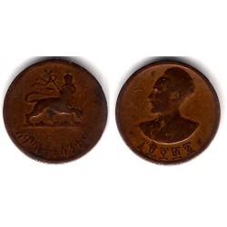 (33) Etiopia. 1936. 5 Cents (BC)