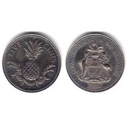 (60) Bahamas. 1984. 5 Cents (SC)