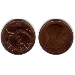 (8.1) Malaui. 1973. 2 Tambala (MBC)
