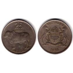 (6) Botswana. 1989. 25 Thebe (BC+)