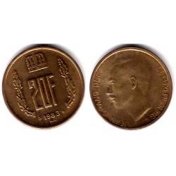 (58) Luxemburgo. 1983. 20 Francs (SC)