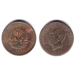(54) Haití. 1906. 10 Centimes (RC)