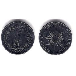 (92) Uruguay. 1989. 5 Nuevos Pesos (EBC+)