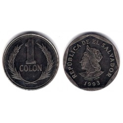 (156b) El Salvador. 1993. 1 Colon (SC)
