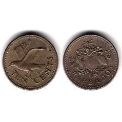 (12) Barbados. 1973. 10 Cents (MBC)