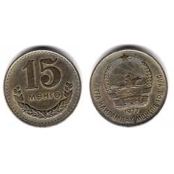(31) Mongolia. 1977. 15 Mongo (MBC)